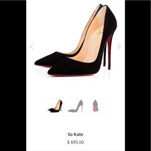 Christian Louboutin So Kate